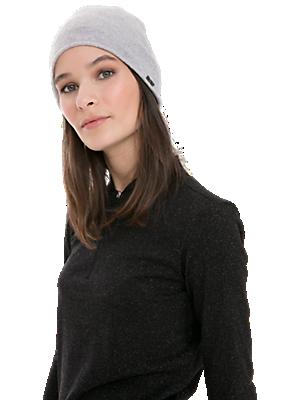 Lightweight 3D Knit Cashmere-Blend Beanie