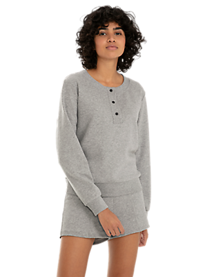 Feminine Sweater with Button Tape and Taurex®